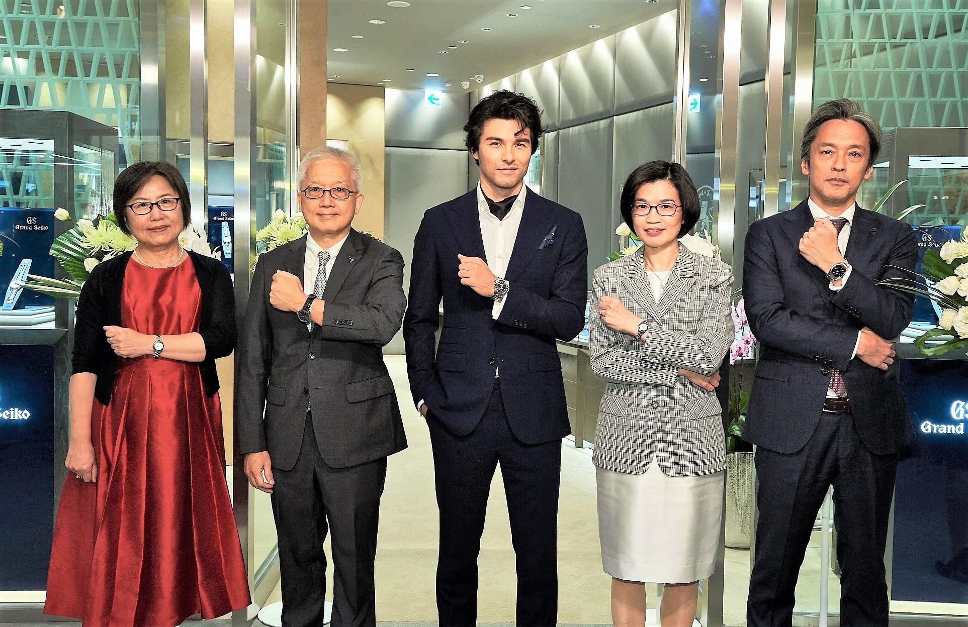 歡慶Grand Seiko創立60周年 台灣首間旗艦店進駐台北101